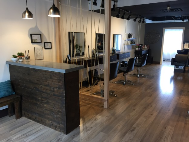 East Nashville Hair Salon, M.Hair Studio complete renovation