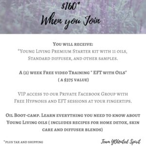 essential oils for energy work